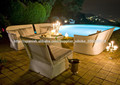 gran venta muebles de ratán moderno jardín sofá