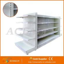 OEM assemble 50 pitch plain used supermarket shelf