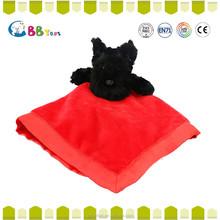 ICTI plush animal dog square Christmas gift for sales