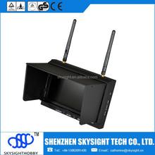 SKYSIGHTHOBBY SKY-700D FPV 5.8G 32CH Diversity 7 Inch TFT FPV MONITOR WITH DVR