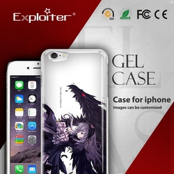 Shenzhen Exploiter diy cell phone clear tpu cover for iphone