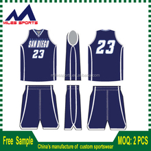 Sleeveless sublimation printing Basketball Jerseys / basketball sets