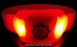 Alibaba wholesale colorful led light bracelet new 2015 promotional gift