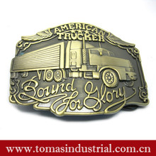 Hot selling fashion custom metal zinc alloy western cowboy belt buckle