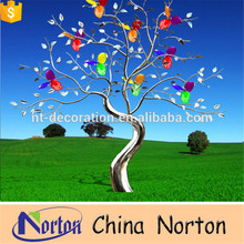 Metal Morden Christmas Tree sculpture Gift Craft artificial christmas trees crafts NTS-507R