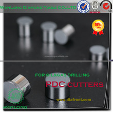 long life span 1313 oil drill bit parts PDC cutter insert for oil/gas drill bit-PDC drill bit cutters