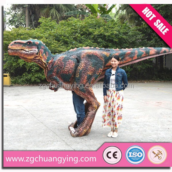 T Rex Walking Costume Pictures