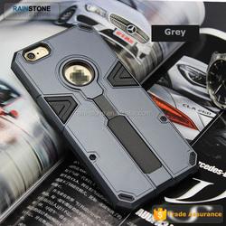 Premium Plastic TPU 2 in 1 combo hybrid cover armor case for iPhone 6S Plus