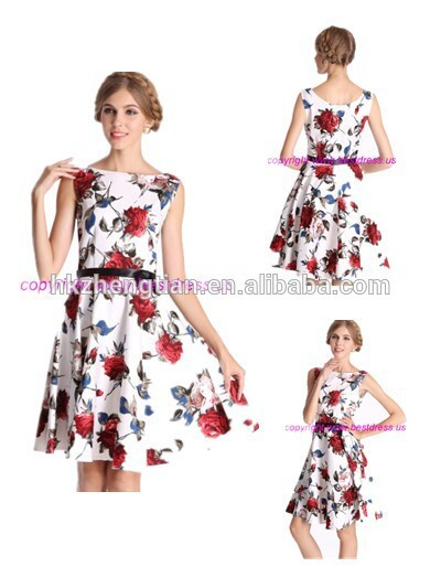 Hot sale vintage dress swing jive rockabilly dress view vintage dress