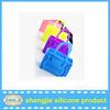 2015 hot fashion silicone handbag /silicone rubber girl handbag