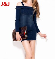 2013 new arrival fashion design wholesale jeans skirts for woman