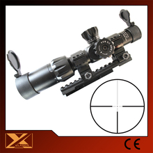 Compact tactical riflescope 1-6X24 first focal plane reticles riflescope
