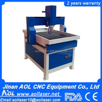 AOL 6090 mini wood cnc router,wood engraving carving machine