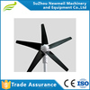 small hot sale home use low noise easy start 100w 200W horizontal customerized wind power turbine generator high reliable