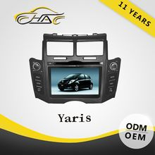 double din car dvd gps for toyota yaris 2013 7 inch