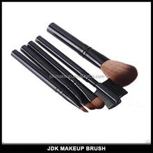 5PCS Facial Make Up Brush Set With Black Acrylic Handle