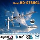 portable hdtv antenna model HD-07BHG1