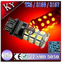 led light T25 3156 3157 27 SMD 5050 car led brake light