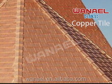 New prducts on China market, asphalt base copper roof