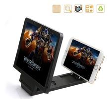 Portable Universal plegable del teléfono móvil de la pantalla 3D amplificador de vídeo teléfono ampliada pantalla