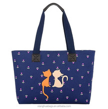 the new cat animal lady handbag cat bags made of canvas
