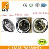 "7"" round led headlights with halos high low beam headlight"