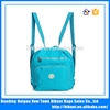 China specially customized for ladies of high quality washer wrinkle fabric nylon shoulder bag messenger bag women backpack