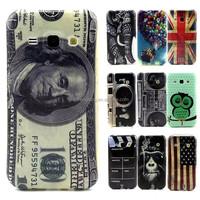 For Samsung J1 PVC animal Cartoon Elephant Owl Soft Rubber TPU Phone Case Cover For Galaxy J100 J100F J1000