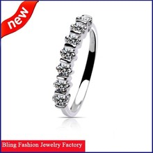 2015 new products fashion heart engagement ring