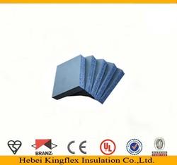 Nitrile Elastometric foam rubber construction material for HVAC system