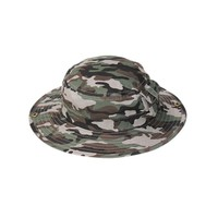 Baby Kids Wide Flat Brim Military Camo Hunting Camping Bucket Boonie Hat