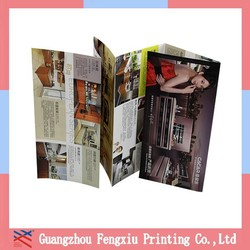 Full Color Cheap Define Leaflets and Flyer for Oversea Customers