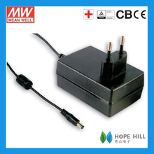Meanwell GSM36E07-P1J 32.4W 7.5V 4.32A EURO Medical Adapter
