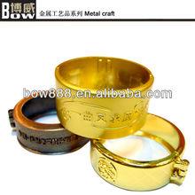 Exquisite brass ring shape metal handicraft
