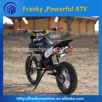 Custom dirt motorcycle