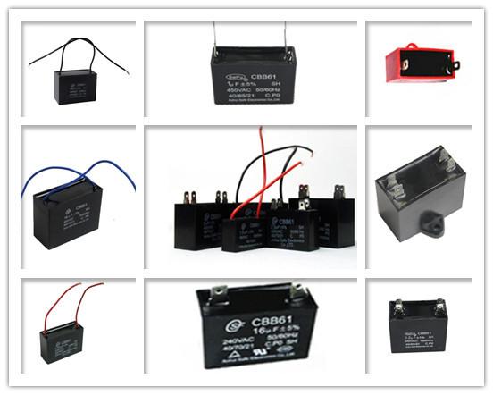 newest design electric fan air conditoner use capacitors 35uf 400v cbb61
