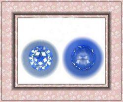 Fashion loose high quailty machine cut round shape blue color cubic zircon gemstones for jewelry/bead wholesale