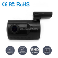 Factory G-sensor Motion Detection Full 1296P hd car front camera