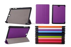 For Samsung Tab A 9.7 Case , 3-folding Ultrathin Wallet PU Leather Flip Case For Samsung Galaxy Tab A 9.7 T555 Case