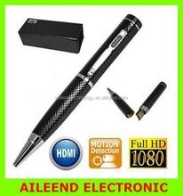 Professional video recorder covert mini DV DVR camcorder Full HD Spy Pen camera 1080P Pen Hidden pinhole camera