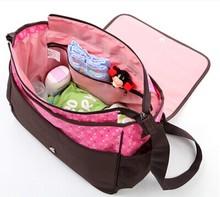 China new arrival wholesalers promotional Korean design diaper bag for baby