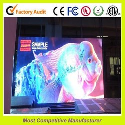 ultra performance full color p4 indoor 32*32 dots used display cases led screen display