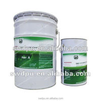 Hand brushable polyurea anticorrosion waterproof coating for steel structure