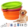 [Grace Pet] Silicone Collapsing Pet Bowls, Expandable dog Travel Dish