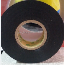 "Premium Grade Electrical Tape, 66' Length x 3"" Width, Black UL& CSA Approval"