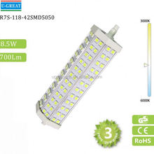 Hot selling R7S 15W 3 chips power 24led corn lamp led bulb r7s