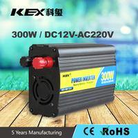 Automobile cigarette lighter plug inverter with USB and universal socket 12v 24v inverter 12V dc to 220V ac 300W KEX-3300