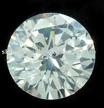 Faceted sparkle round hot selling jewelry white cubic zircon
