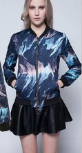 EY0030A Pattern for quilted jacket printed warm women Cotton-padded jacket didn't cover