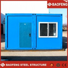 Low cost flat pack multi china moveable container house